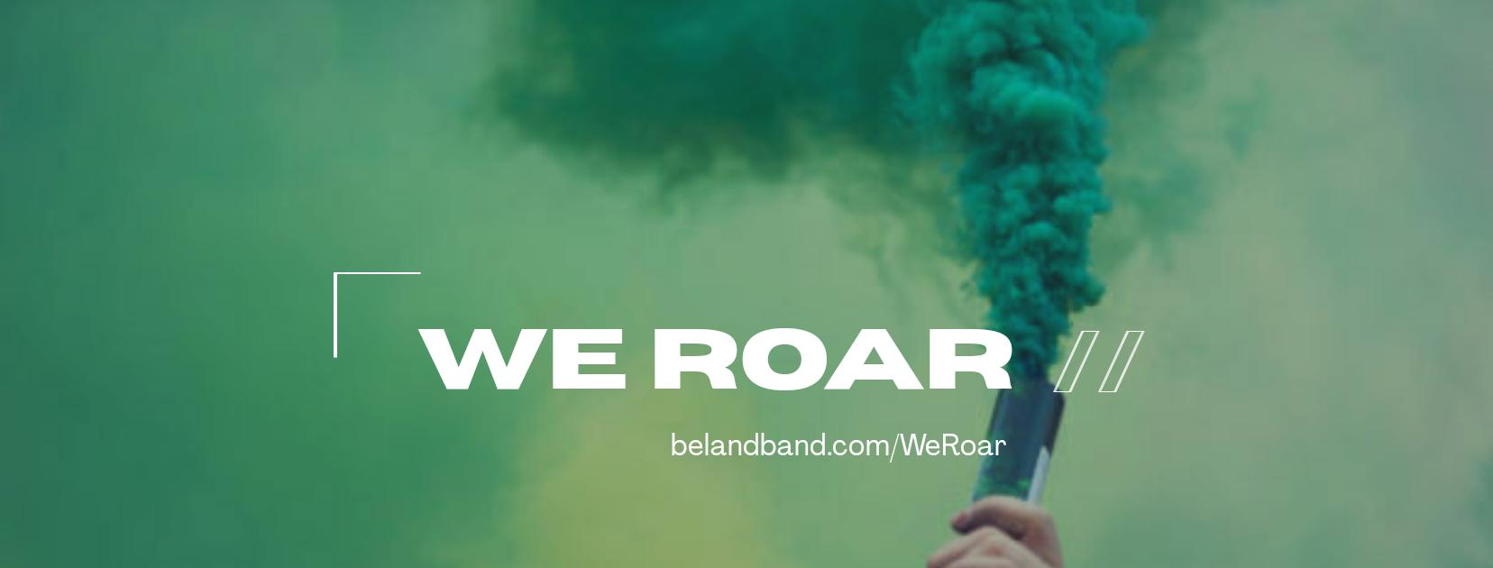 We Roar Logo